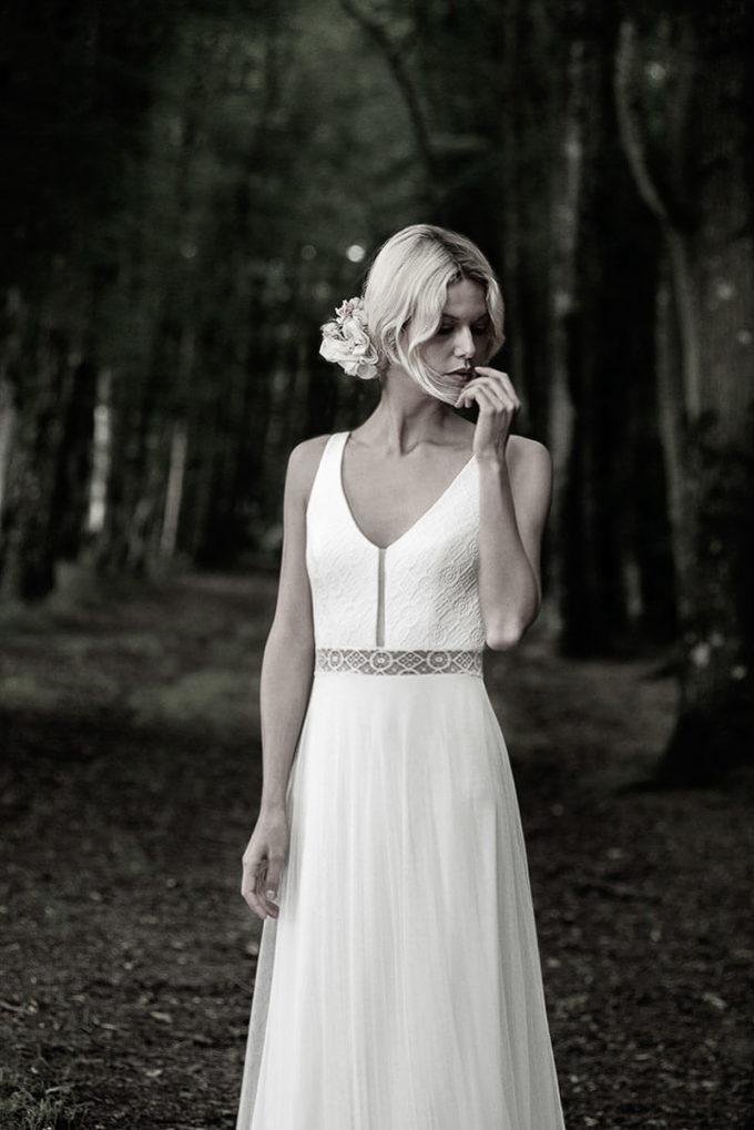 Leichtes Brautkleid