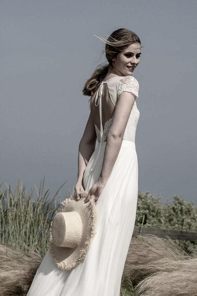 Puffärmel Brautkleid