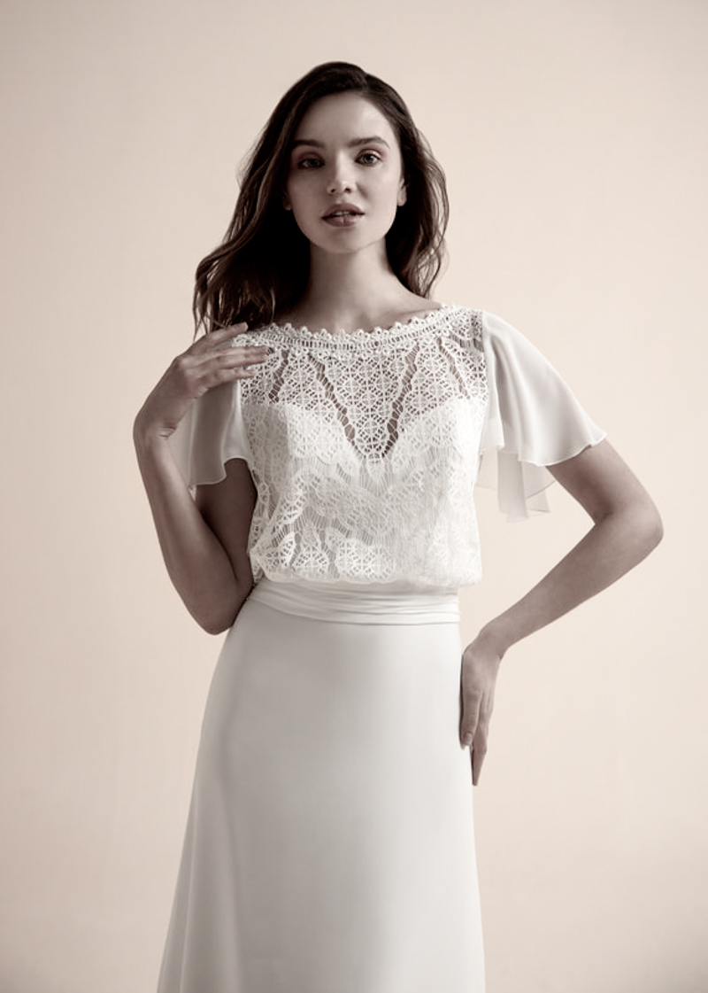 Jazz by Modeca - Caitlin Top| Jenari - Bridal Concept Store | Brautmode Wuppertal