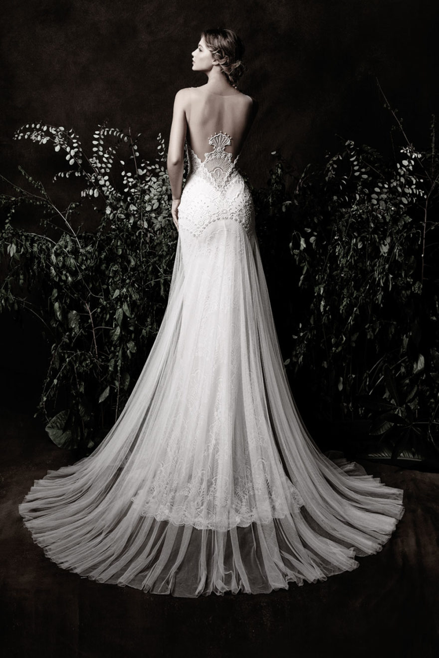 extravagantes Brautkleid