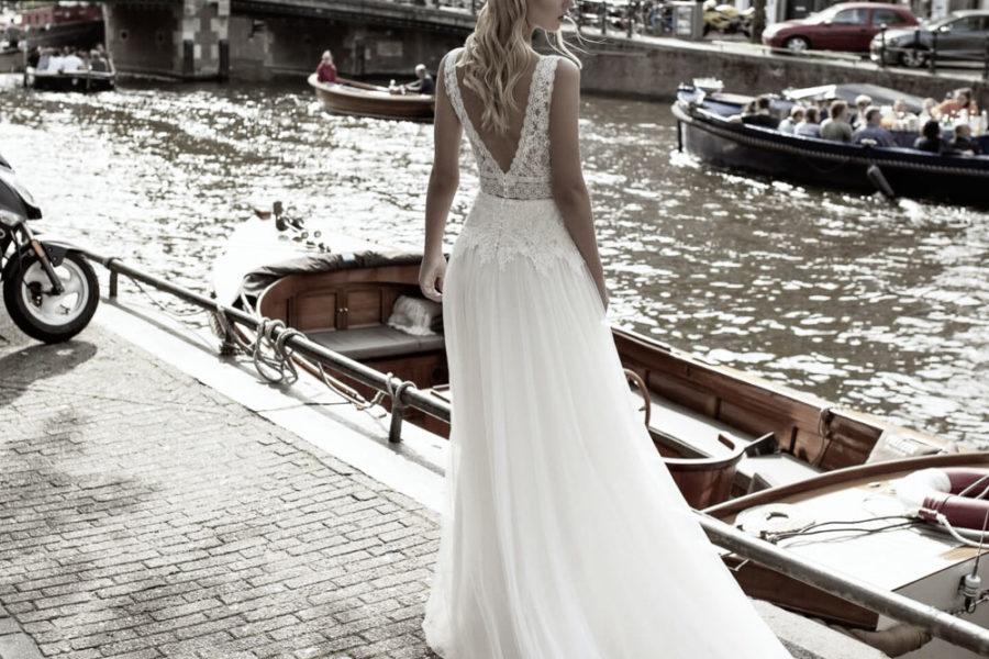Modeca Vintage Hochzeitskleid