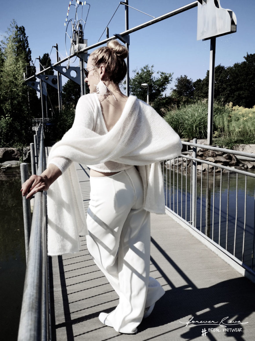 Forever and Eva | #Be Sweet | Bridal Knitwear | Jenari- Bridal Concept Store| Brautmoden Wuppertal