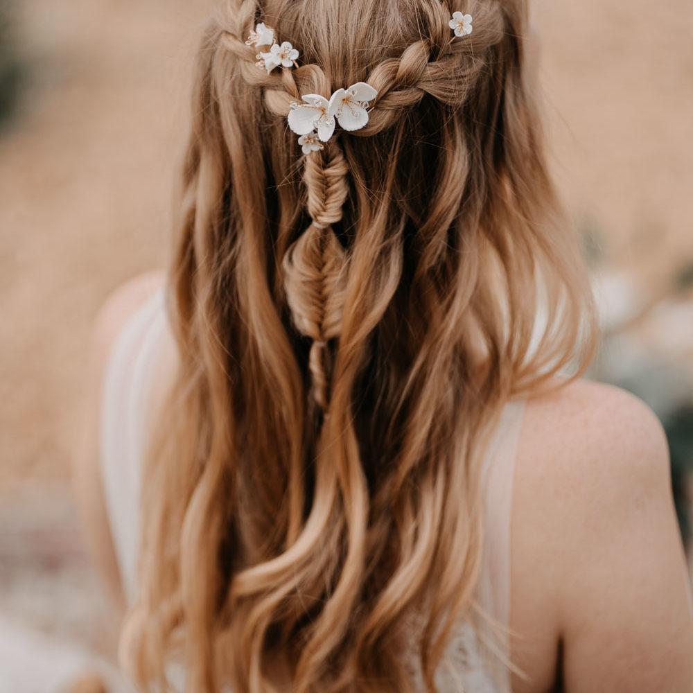 Brautfrisur, headpieces brautaccessoires , haarnadeln