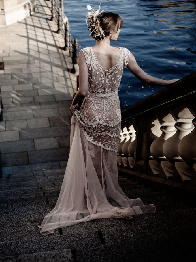 Brautkleid mit Sweetheart-Ausschnitt