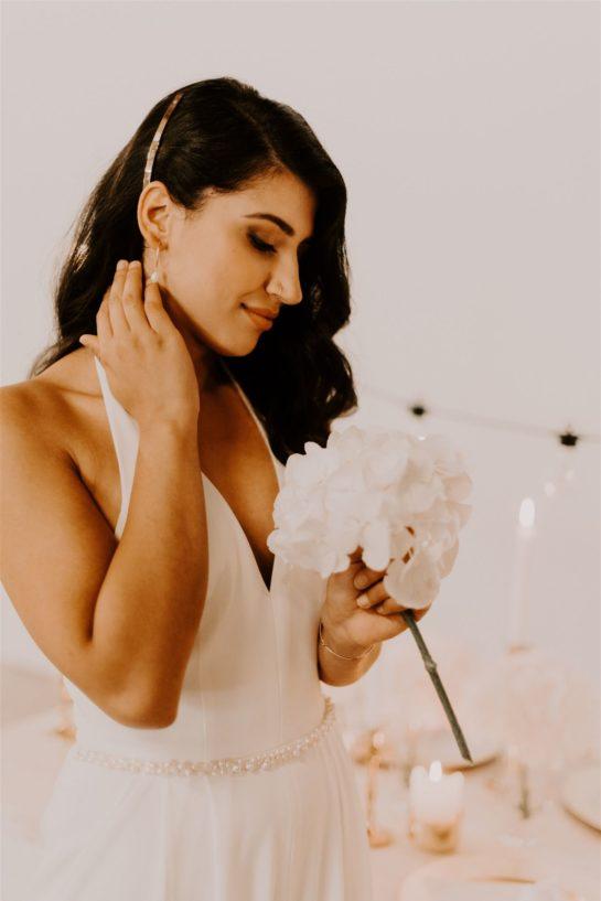 moderne Braut, Brautjumpsuit, Hose für Hochzeit, Standesamtoutfit, moderes Brautoutfit, schlichte Braut, coole Braut , lässiges Brautoutfit , engaged , Braut,