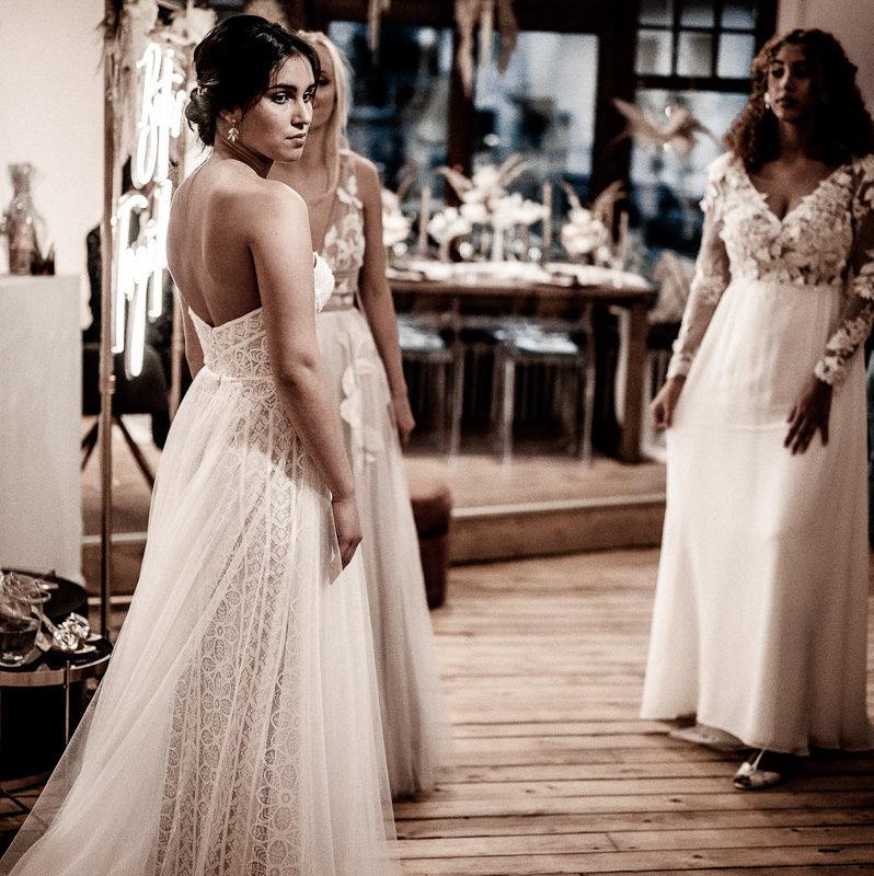 Eröffnung Bridal boutique, Brautmode, Bräute, Brautmode