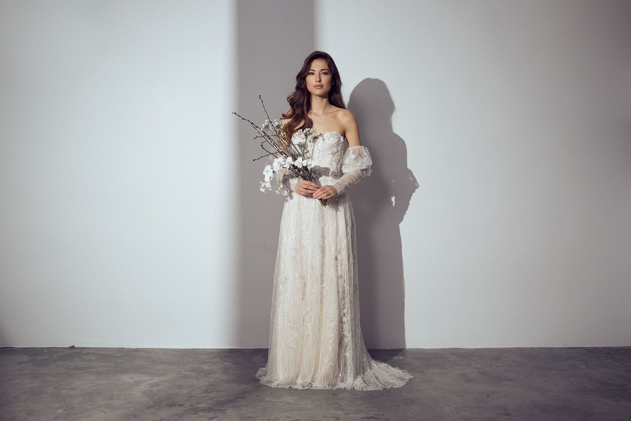 Moderne Brautmode