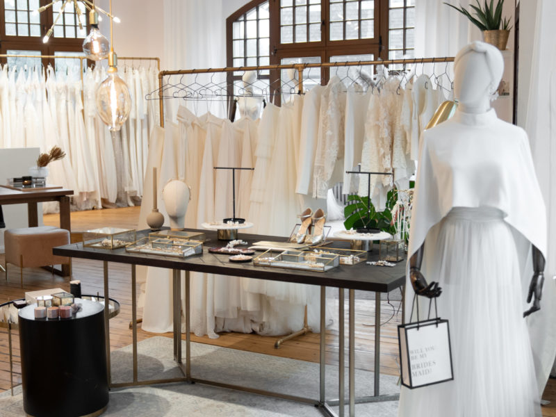 Brautmodengeschäft in Wuppertal